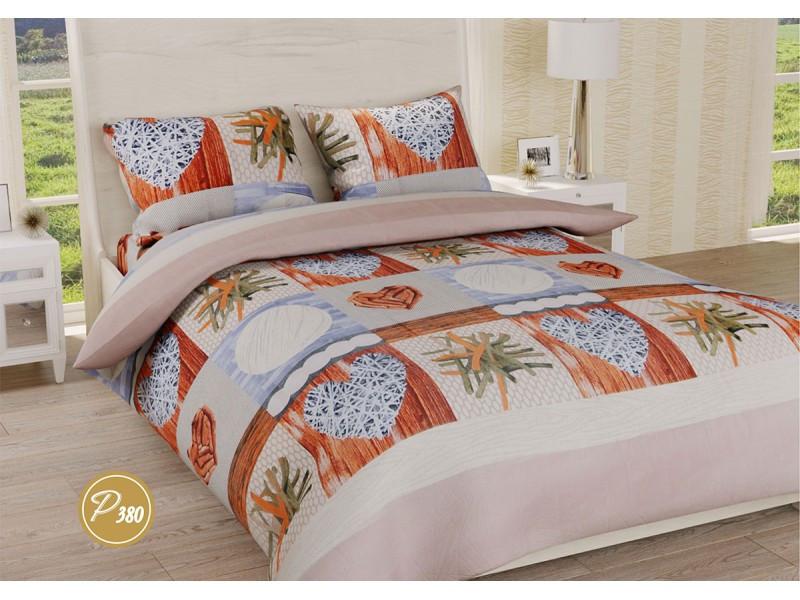 Комплект постельного белья Leleka-textile двуспальный ранфорс арт.Р-380
