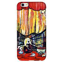 Чехол Jimmy SPA для iPhone 6 абстракт в лесу