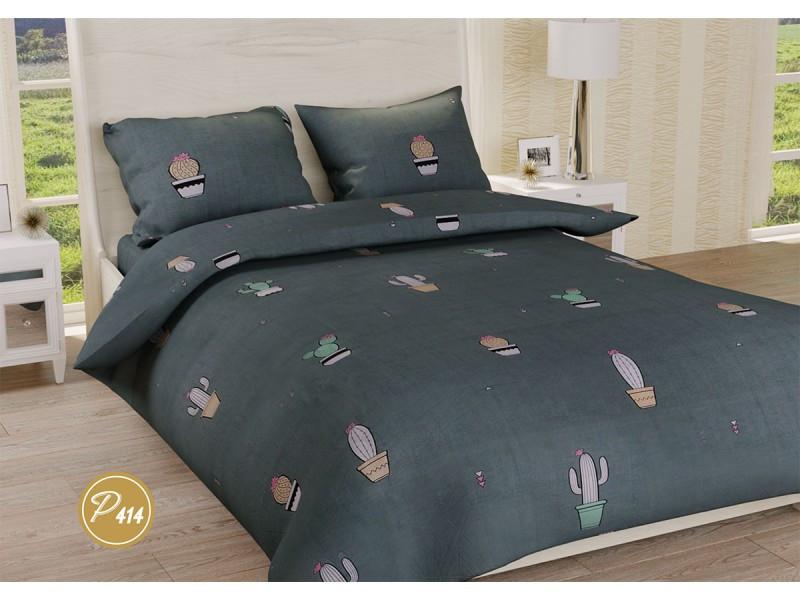 Комплект постельного белья Leleka-textile семейный ранфорс арт.Р-414