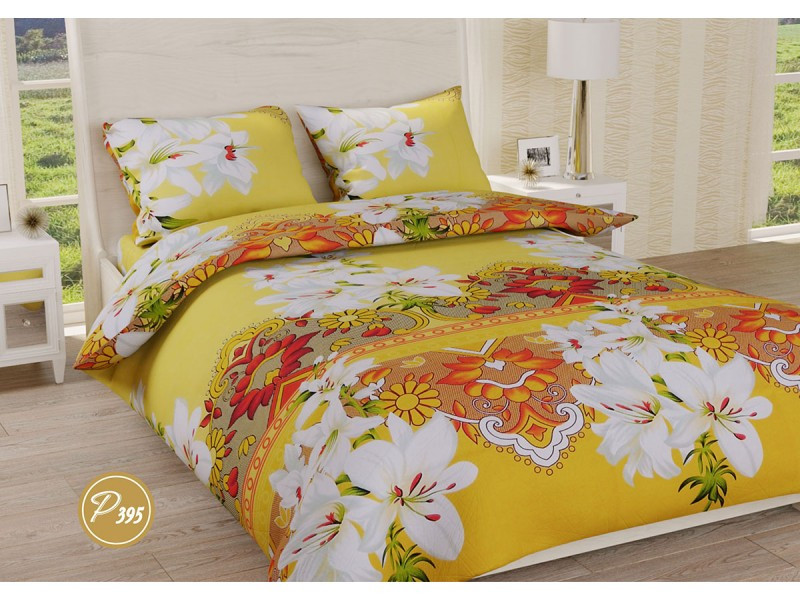 Комплект постельного белья Leleka-textile семейный ранфорс арт.Р-395