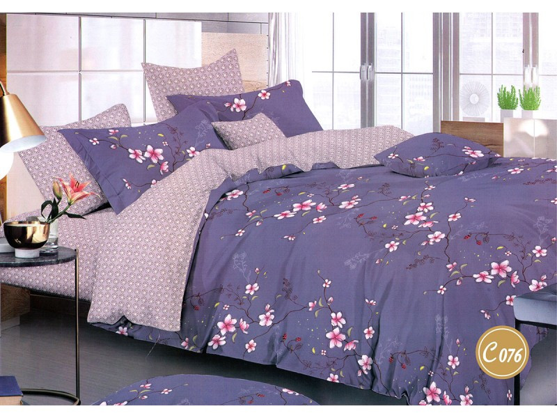 Комплект постельного белья Leleka-textile полуторный сатин арт.С-076