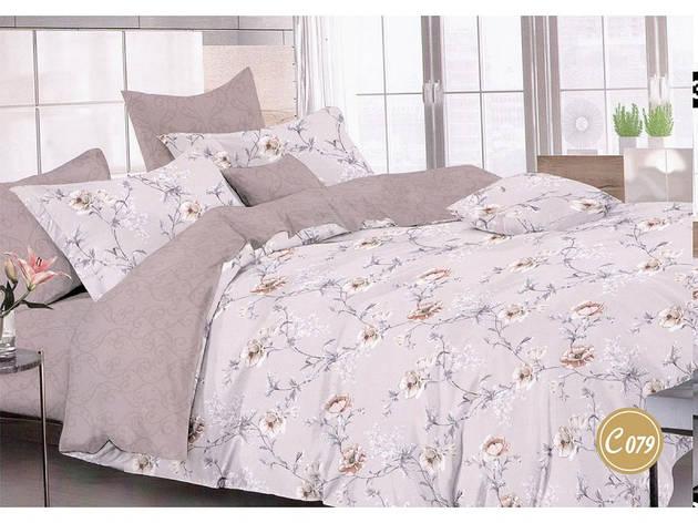 Комплект постільної білизни Leleka-textile полуторний сатин арт.З-079, фото 2