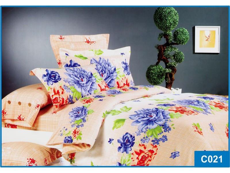 Комплект постельного белья Leleka-textile полуторный сатин арт.С-021