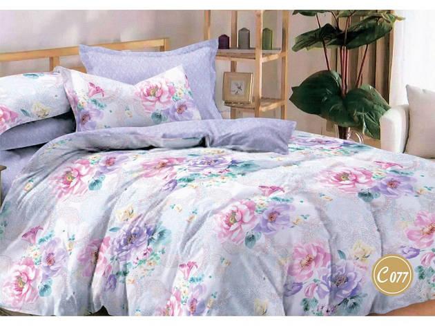Комплект постільної білизни Leleka-textile Євро сатин арт.З-077, фото 2
