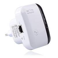 Беспроводной Wi-Fi репитер расширитель диапазона Wi-Fi сети MHZ Белый 005226, КОД: 1765927