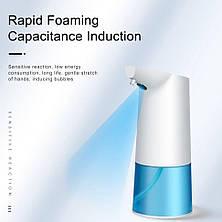 Бесконтактный диспенсер для мыла Usams US-ZB122 Auto Foaming Hand Washer White EAN/UPC: 6958444912653, фото 3