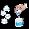 Бесконтактный диспенсер для мыла Usams US-ZB122 Auto Foaming Hand Washer White EAN/UPC: 6958444912653, фото 6