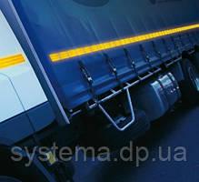 Світловідбиваюча стрічка 50 мм х 10 м для транспорту, воріт, шлагбаумів, місць паркування, помаранчева, фото 3