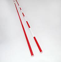«АНТЕННЫ» для волейбола цельные бело-красные (1 шт.), Испания с НДС