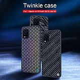 Nillkin Xiaomi Mi 10 Youth/ Mi 10 Lite Twinkle case Black Чехол Бампер, фото 7
