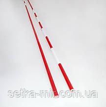 «АНТЕНИ» для волейболу цілісні біло-червоні (1 шт.), Іспанія з ПДВ