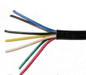 Силовой кабель провод шнур ПВС 7*0,75  ИЭК