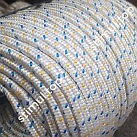 Шнур поліпропіленовий Ø 8 мм (М-Тих) ➜ 100 метрів ➜ Плетений фал з наповнювачем ➜ Мотузка господарська