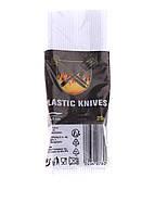 Набор одноразовых пластиковых ножей LIDL Белый L-12096401, КОД: 1704986