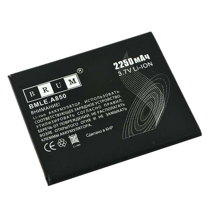 Акумулятор Brum Standard для Lenovo A850 (BL198) 2250 mAh (031 133 079 06501)