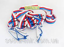 Розмітка майданчика для пляжного волейболу «ТРАНСФОРМЕР» червоно-біло-синя