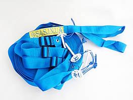 Разметка площадки пляжного волейбола «ТРАНСФОРМЕР» синяя