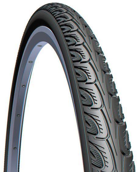 Велошина 24x1 3/8 37-540 RUBENA HOOK V69 Classic TIR-24-33 чорна для колясок