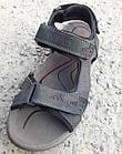 Сандалии мужские кожаные р.42 серые Adidas, фото 3