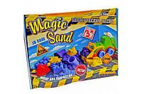 Набір для творчості Magic sand 0,45 + трактор 51201 STRATEG