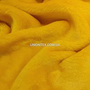 Мех игрушка гладкий желтый