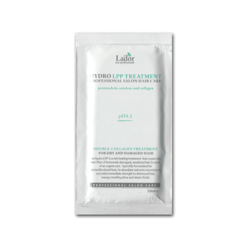 Восстанавливающая маска для сухих и поврежденных волос Lador Eco Hydro Lpp Treatment, 10 мл
