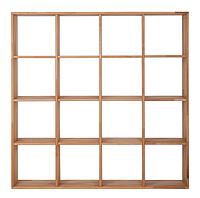 """Книжный стеллаж из дерева """"Куб"""" от производителя 4х4"""
