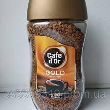 Кава розчинна Cafe dOr GOLD 200 g опт.