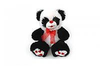 Панда з червоним бантиком 40см  6206/40