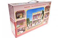 Меблі для ляльок  FDE8713 кухня+спальня з флок.зайчиком і аксесуарами.кор.42*9,5*28 \t\t