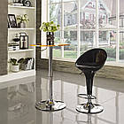 Барний стілець Джоллі чорний, стілець для візажиста від SDM Group, пластик, фото 2