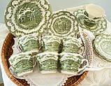 Комплект английской керамики, английский чайный сервиз на шесть персон, Ironstone Tableware LTD, Англия, фото 2