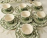 Комплект английской керамики, английский чайный сервиз на шесть персон, Ironstone Tableware LTD, Англия, фото 5