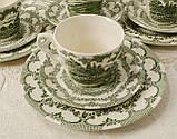 Комплект английской керамики, английский чайный сервиз на шесть персон, Ironstone Tableware LTD, Англия, фото 6
