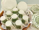 Комплект английской керамики, английский чайный сервиз на шесть персон, Ironstone Tableware LTD, Англия, фото 7