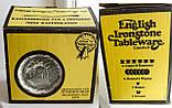 Комплект английской керамики, английский чайный сервиз на шесть персон, Ironstone Tableware LTD, Англия, фото 9
