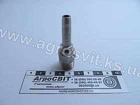 """Штуцер AGR-K 3/8""""-19  (под шланг dу=08 мм.)"""