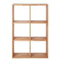"""Стеллаж для книг из дерева """"Куб"""" от производителя 2х3, фото 1"""