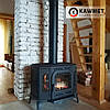 Печь камин чугунная KAWMET P7 (10.5 kW) LB EKO дверцы с левой стороны, фото 4