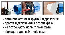 Бесконтактный выключатель с розеткой Livolo белый стекло (VL-C701/C7C1EU-PRO-11), фото 3