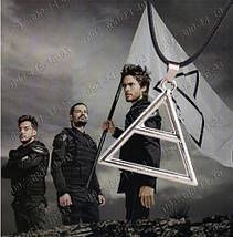 "Кулон-логотип Триада группы 30 Seconds to Mars Символ альбома ""This is war"" , фото 3"