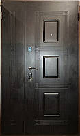 Входная дверь двухстворчатая 1200 Т1 345 венге