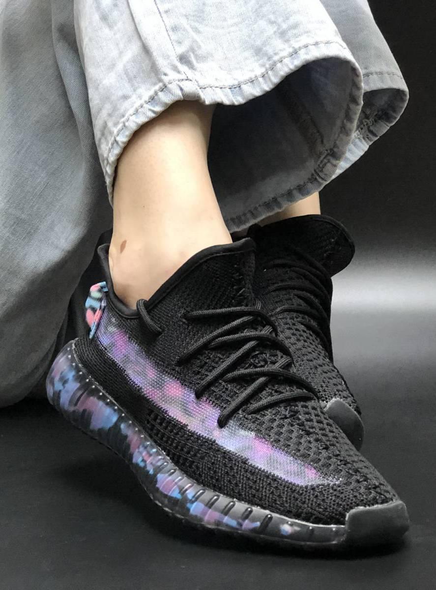 Женские кроссовки Adidas Yeezy Boost 350 Рефлективные