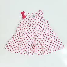Літнє плаття для дівчинки LOVETTI р. 74