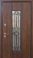 Двери входные металлические Пруф Standart Mottura Nvd Nominal винорит дуб темный 970