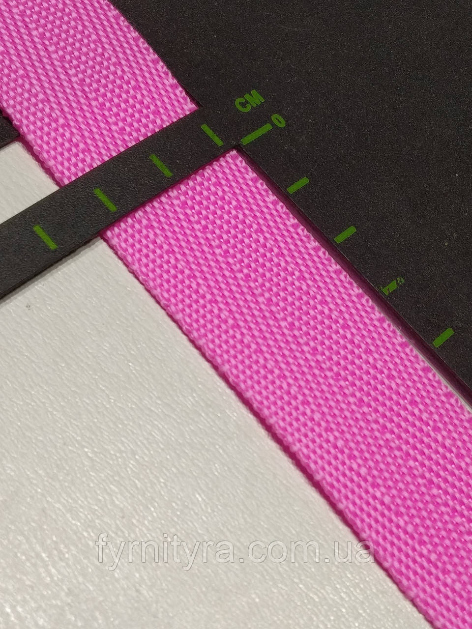 Тесьма сумочная, стропа 2.5 см розовая