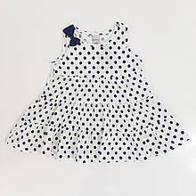 Літнє плаття для дівчинки LOVETTI р. 80, 86, 92