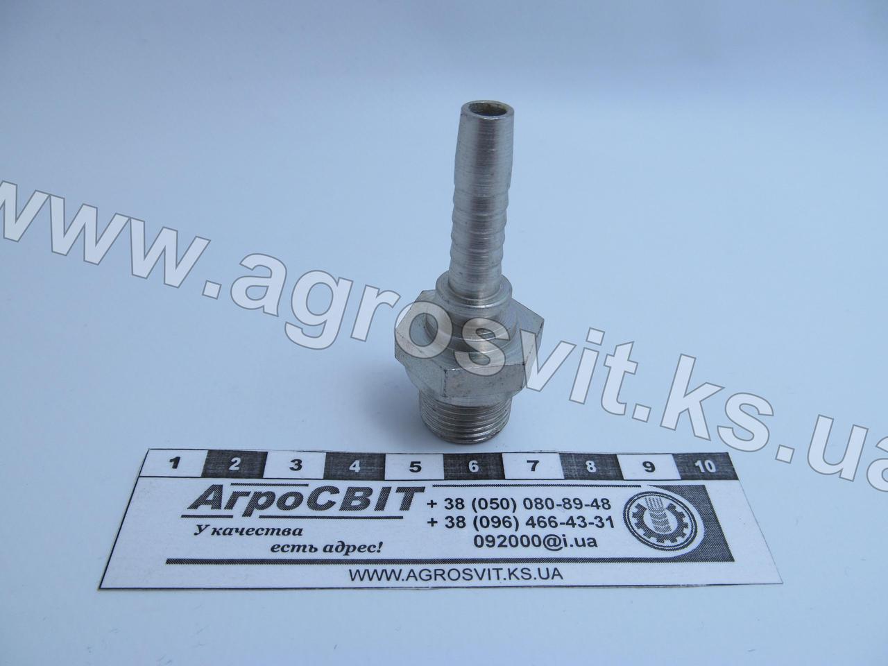 """Штуцер AGR 3/8""""-19  (под шланг dу=08 мм.)"""