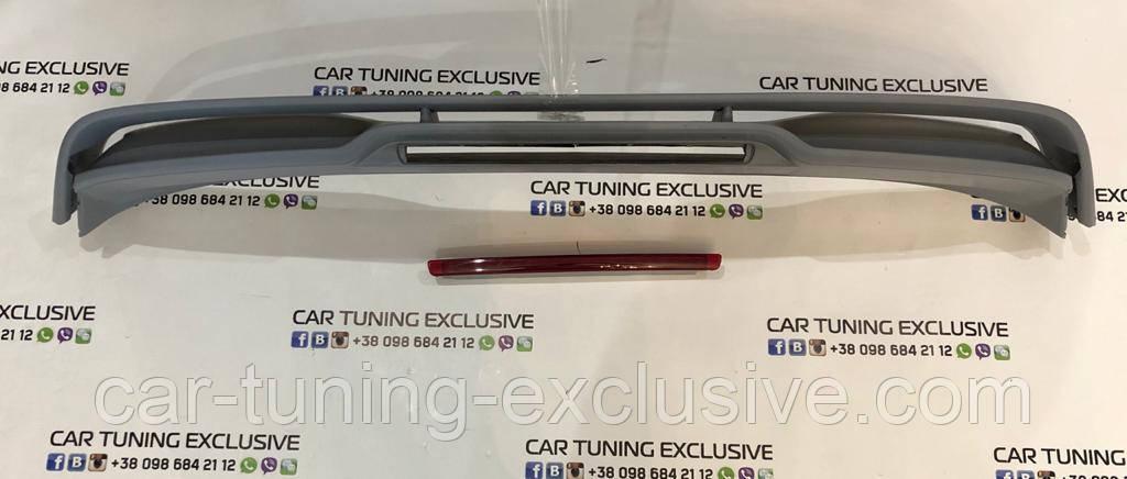 Trunk lid spoiler GTS for Porsche Cayenne 958