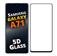 Защитное стекло 5D для Samsung Galaxy A71 A715 (самсунг а71)